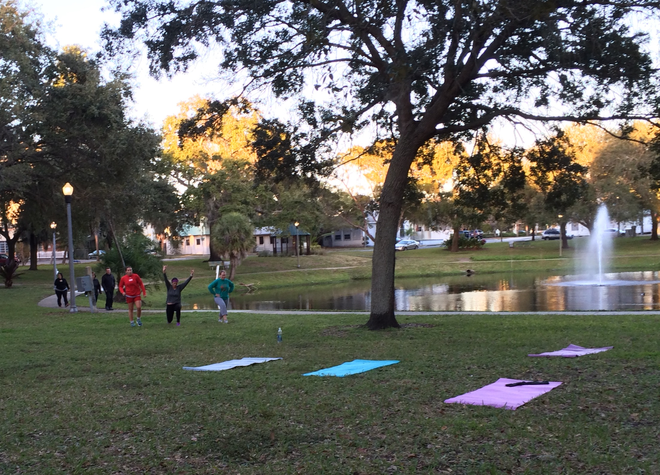 The Weekly Round Lake HIIT Workouts Are ON!